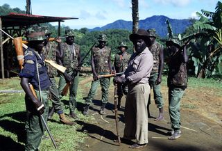 Bougainville irregular soldiers (Will Bundy)