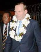 Tony Abbott in PNG