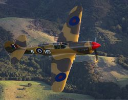 The Kittyhawk flown by Jim Harvey and Arch Simpson flies again in Canada (Gavin Conroy)