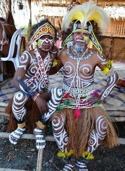_West Papuan dancers