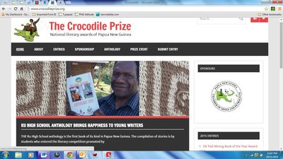 Crocodile Prize website