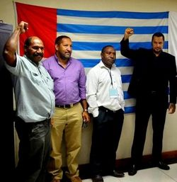 Gov Gary Juffa - solidarity with West Papua