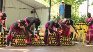 Bougainville Bamboo Band (Canberra Multicultural Festival 2013)