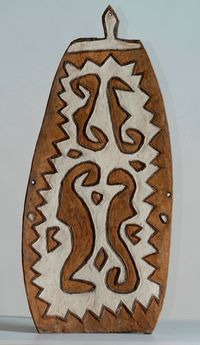 Amanab shield, West Sepik