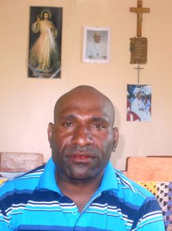Fr Taison Kuringi, chairman district relief committee
