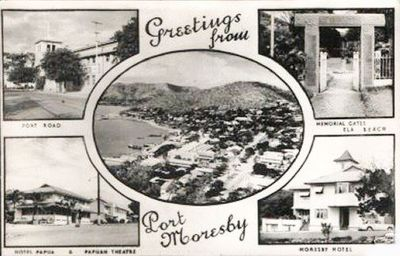 Greetings from Port Moresby