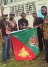Wewak protesters - some abused by police