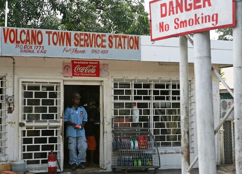 Volcano Town Service Station