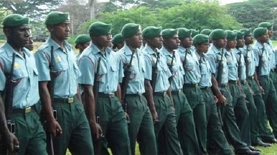 PNGDF recruits pass out