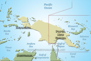 Island of New Guinea