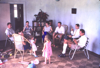 Chiristmas with the Clelands, Balimo. 1959