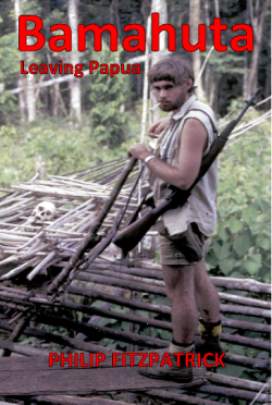 Geoff Smith on the cover of Bamahuta - Leaving Papua
