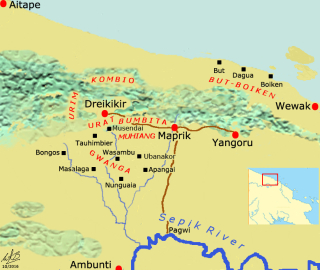 Map_Dreikikir region