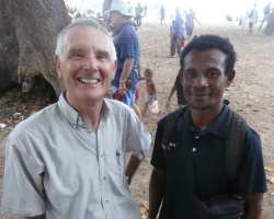Trobriands - two ex PIR soldiers meet