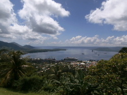 Rabaul harbour from Malmaluan