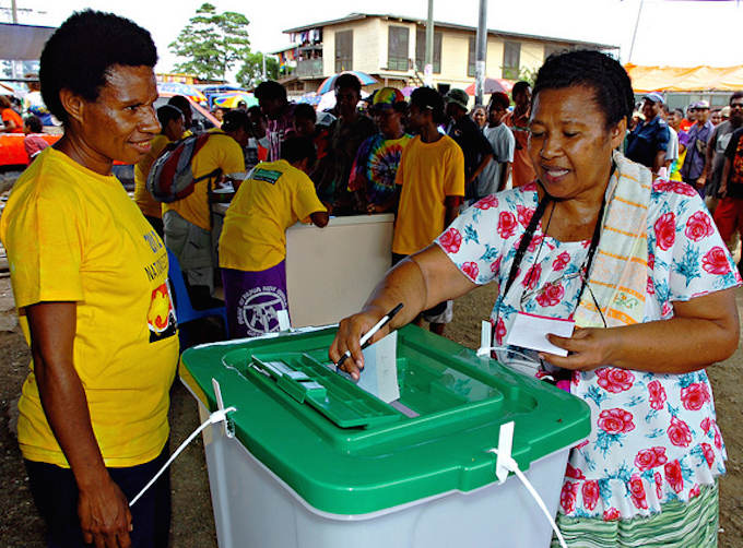 Election day (Development Policy Centre)