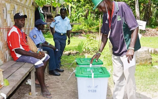 Election on Bougainville  2015