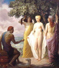 Aphrodite and Paris