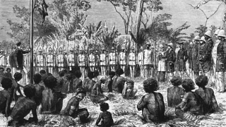 British in Port Moresby  1885