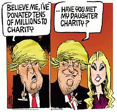 Trump & Charity (The Moderate Voice)
