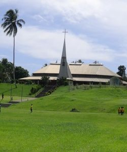 Basilica of Blessed Peter ToRot in Rakunai, East New Britain