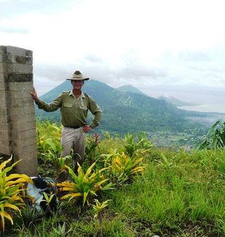 Reg Yates at Rabaul Anzac 2012