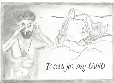 Tears for my land (Iso Yawi)