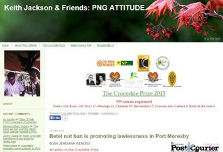 PNG Attitude front page