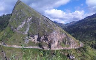 The spectacular scenery of PNG