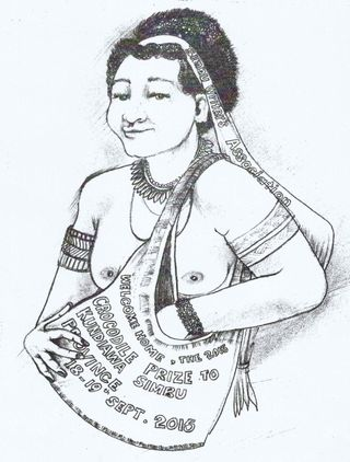 Simbu Woman (Simon Mathias)