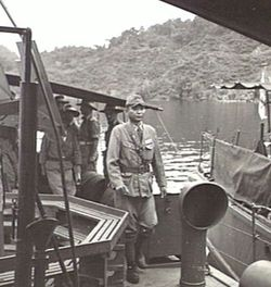 Japanese garrison on Kairiru Island 1945 (Australian War Memorial)