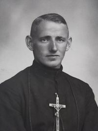 Missionary brother Cornelius Wiedl died in 1944 during the shelling of Yorishime Maru