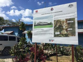 Proposed police station on Manus (Stefan Armbruster, SBS)