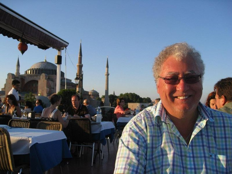 Keith in Istanbul