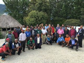 Catholic Mission lay leaders from Mendi (Fr Isaiah Timba)