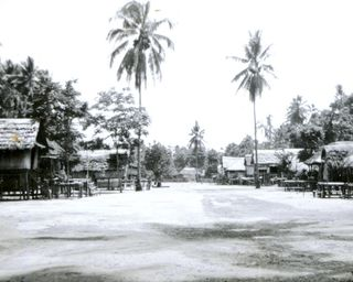 Beipa village, 1950 (Bill Brown)
