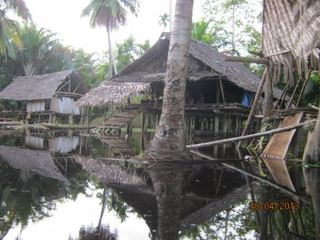 Sepik flood (ABC)