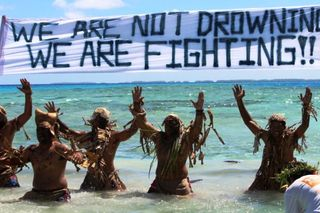 Fighting not drowning