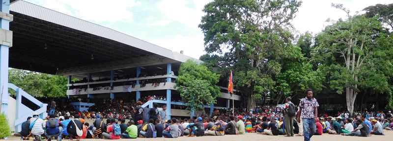 19 May Protest, UPNG