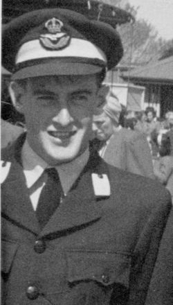 Young Bill Brown as RAAF member