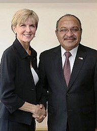 Julie Bishop & Peter O'Neill (DFAT)