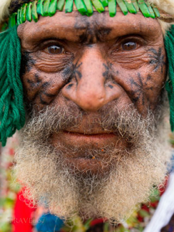 Old man in Goroka