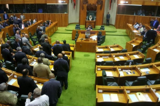 PNG parliament this morning