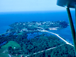 01 Wewak from the air, 1955-56