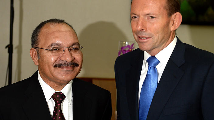 O'Neill and Abbott (AAP)