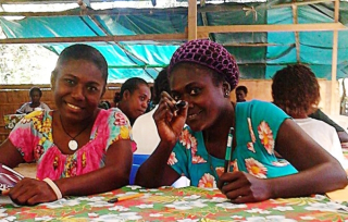Young women's leadership training program at Chabai, south Bougainville