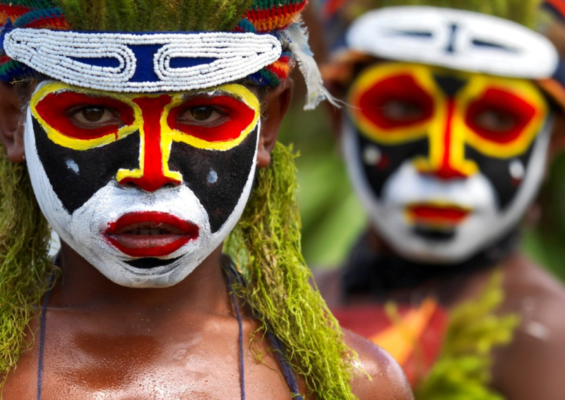 Rich heritage (PNG tourism board)