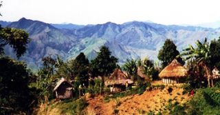 Traditional village near Lufa (ABC)