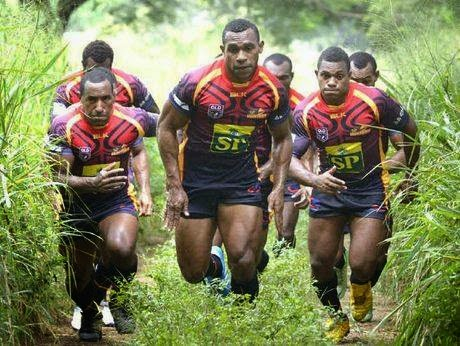 PNG Hunters in training