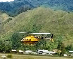 Helicopter allegedly used in Kerowagi kidnapping